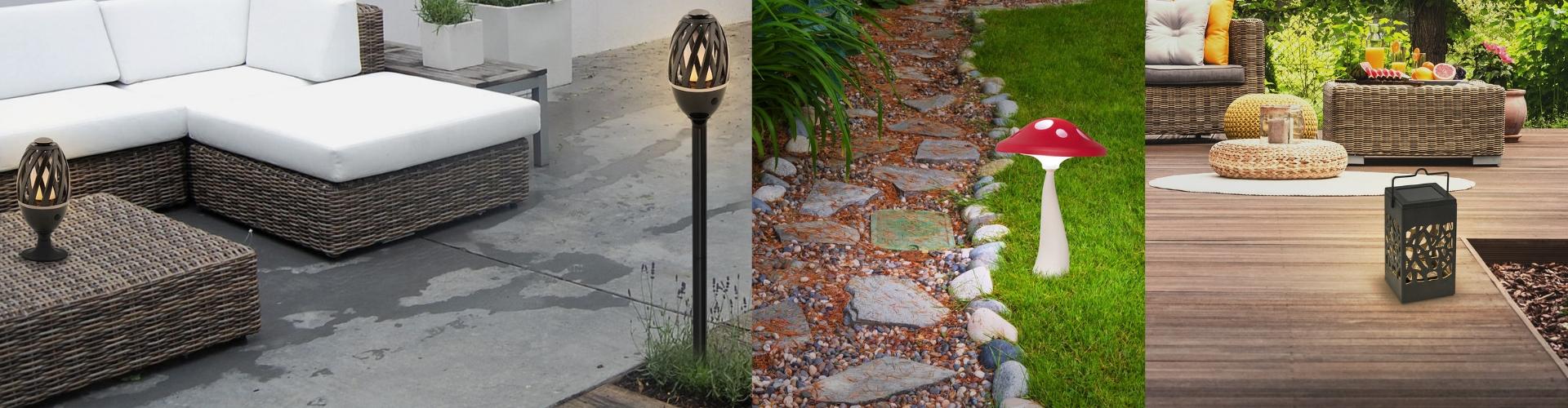 Външни декоративни лампи